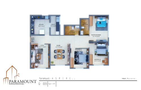Paramount Aspire Floor Plan