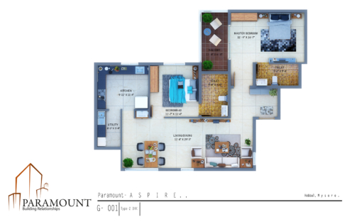 Paramount Aspire - Floor Plans
